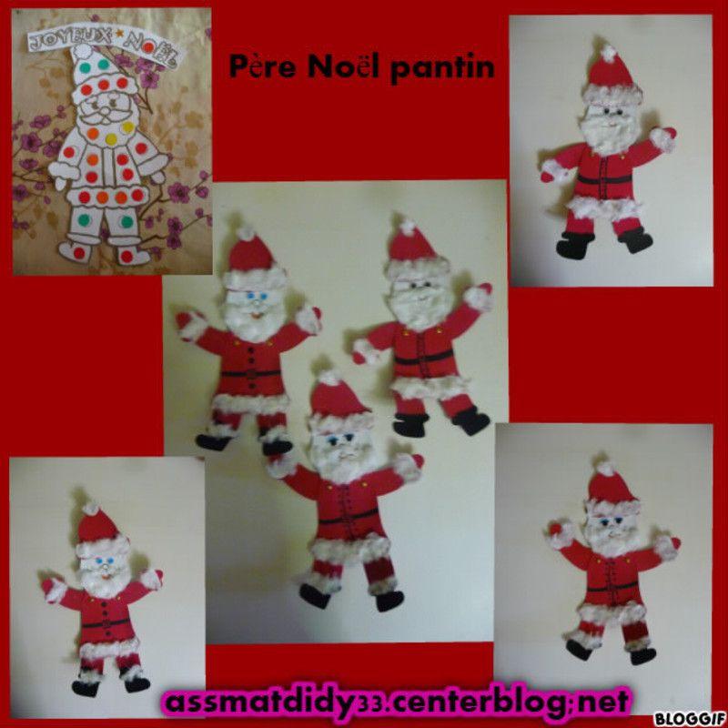 Le p re no l en pantin centerblog - Pere noel maternelle ...
