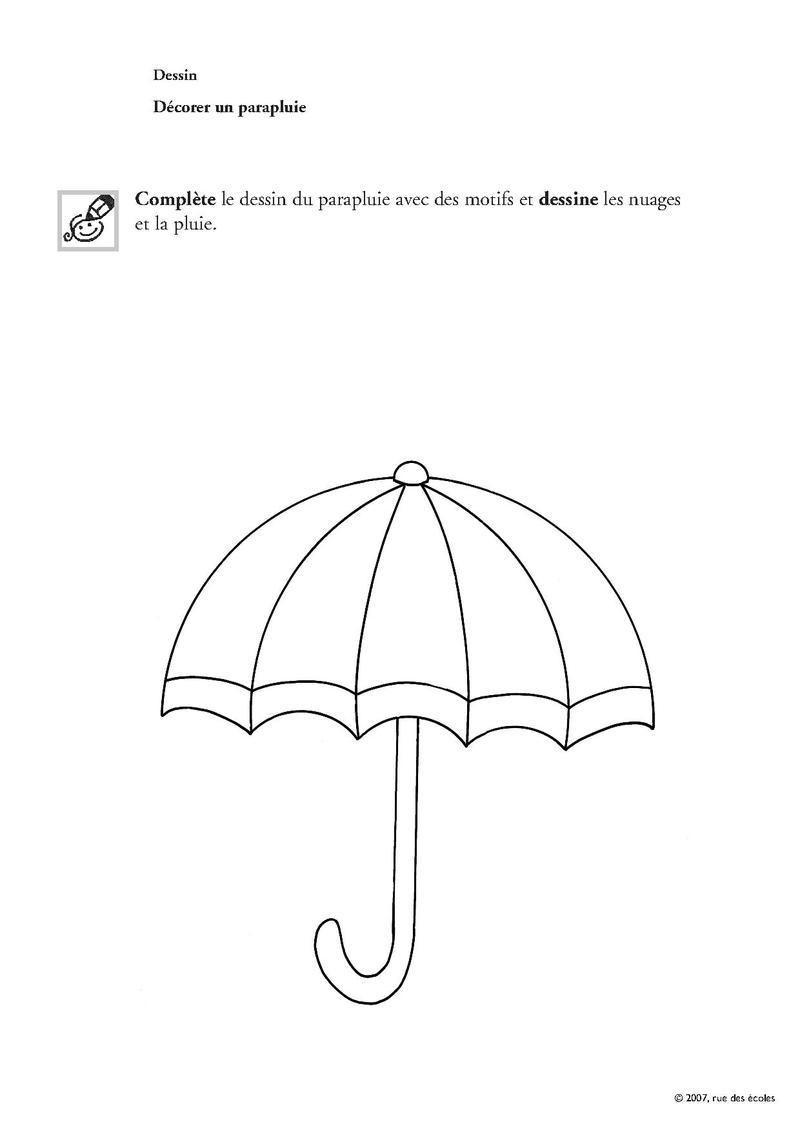 Paires de bottes et parapluies - Parapluie dessin ...
