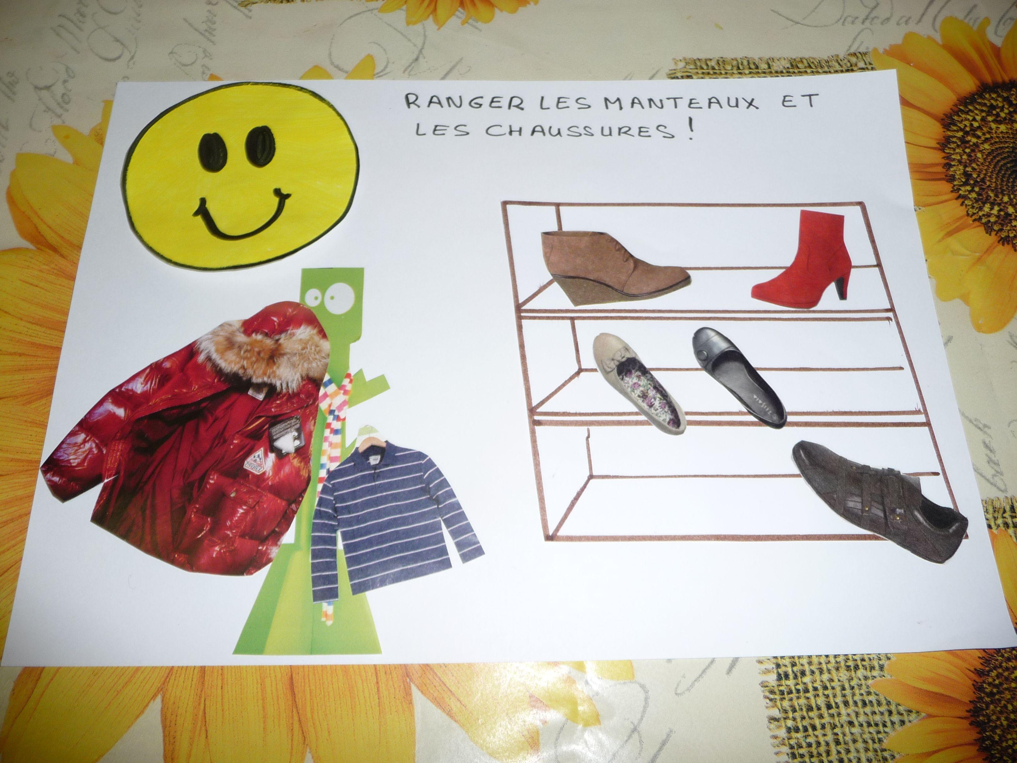 r gles de vie 4 ranger les manteaux et les chaussures. Black Bedroom Furniture Sets. Home Design Ideas